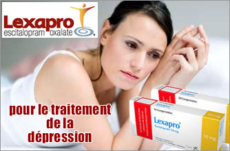 lexapro - traitement de la depression